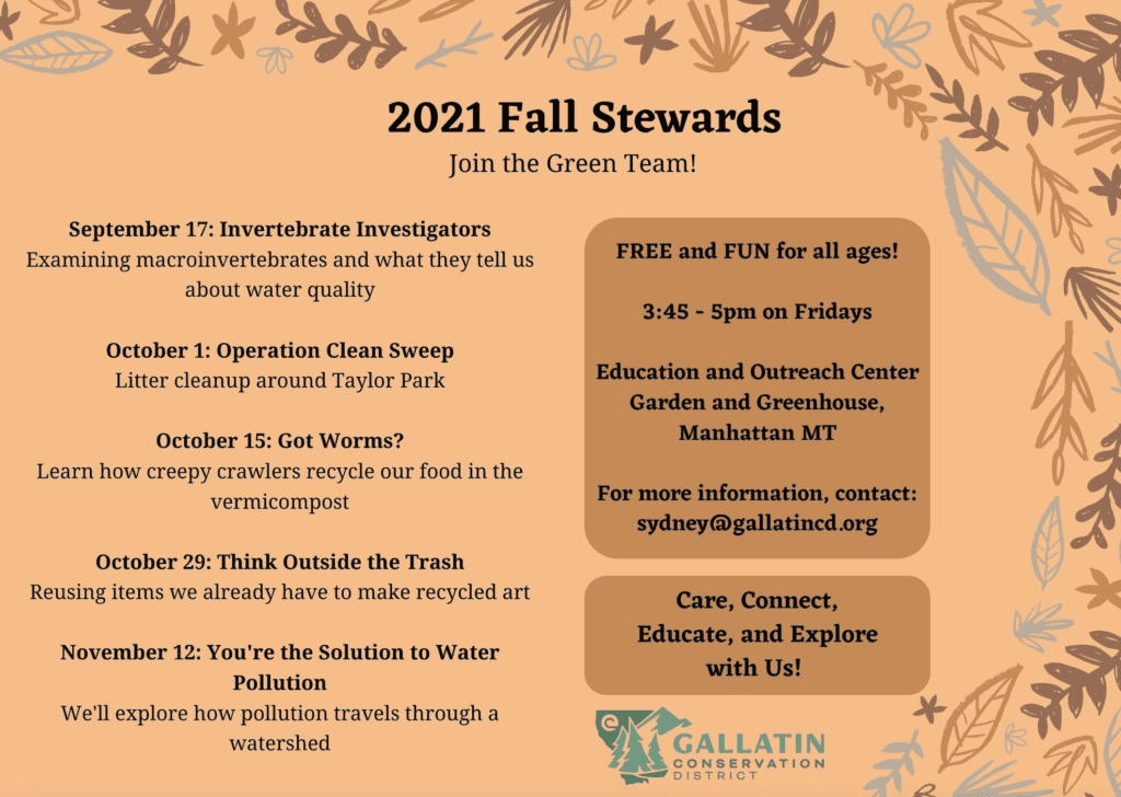 Fall Stewards